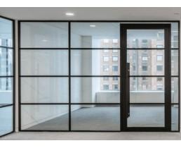 Каркасные перегородки в 2 стекла, офисные перегородки