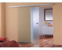 Полупрозрачная раздвижная дверь, стеклянная дверь