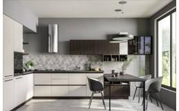 Встроенные кухни до потолка - интеграция в жилое пространство