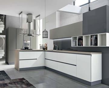 Встроенные кухни на заказ, тенденции 2021. Идеи дизайна. Видео 21 проекта. Фото