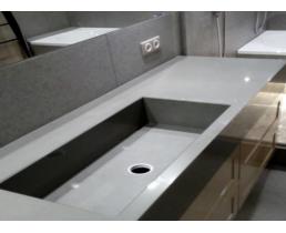 Мебель в ванную вариант 19