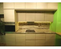 Кухня на заказ с фасадами  Alvic, из колекций Solid. Видео