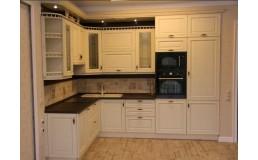 Кухня на заказ, с крашенными фасадами МДФ. Claccik 5