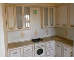 Кухня на заказ, с крашенными  фасадами МДФ_claccik2