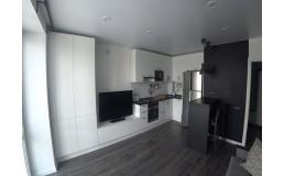 Кухня с матовыми фасадами AGT Soft Touch Белый шелк_1. Видео.