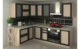 Угловая кухня ADEL Дуб Венге. Видео