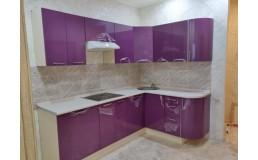 Фиолетовая кухня фабрики Azzgard