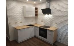 Маленькая кухня на заказ в Smart квартиру. ЖК ParkLand