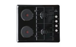 Газо-электрическая варочная панель Perfelli HKM 627 BL