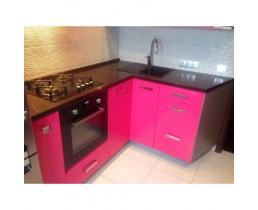 Кухня под заказ (Розовая) 1400х1800