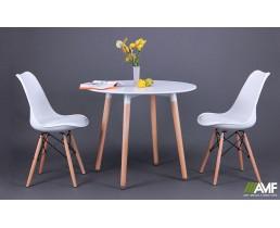 Обеденный комплект Ribes + стулья Aster Wood AMF