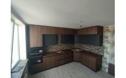 Кухня Киев. Угловая Кухня в потолок. Кухня BLUM. Рассрочка под 0%. Видео.