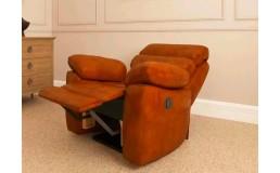 Электрическое кресло реклайнер для салона красоты. 3D обзор