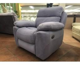 Современное кресло реклайнер с электроприводом Алабама для салонов красоты