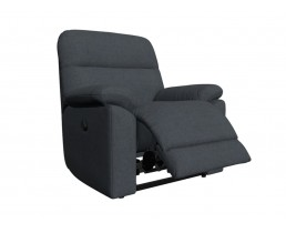 Кресло реклайнер с электроприводом для салона красоты, цвета морской волны. Вариант 4. Видео. 3D Обзор