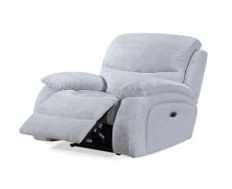 Кресло реклайнер с электроприводом для салона красоты. Gray Silver