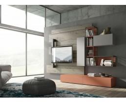 Комплект мебели для гостиной в стиле Loft Bramberg Fir