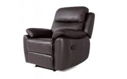 Кресло реклайнер в натуральной коже